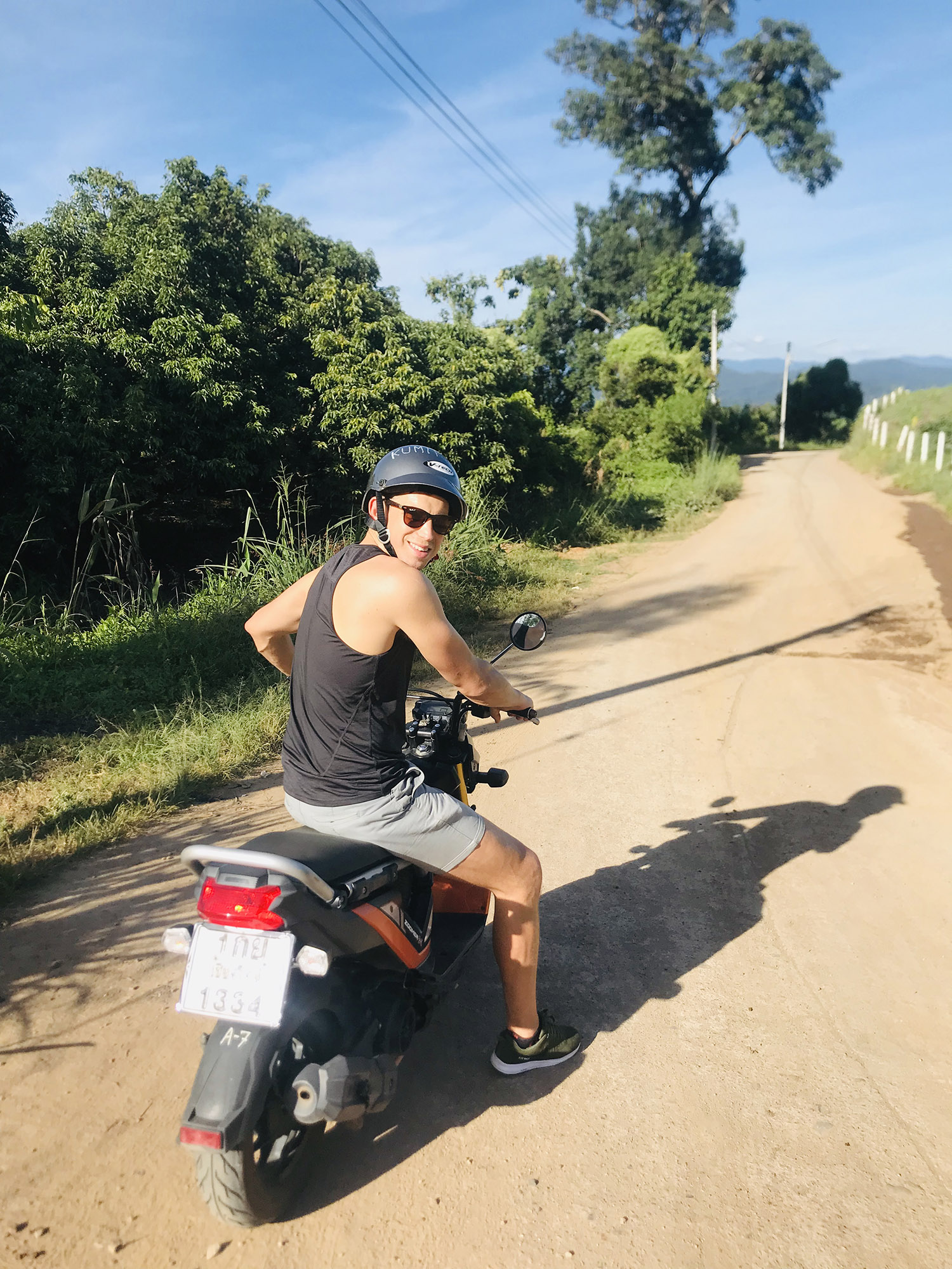 Scootering around Pai, Northern Thailand